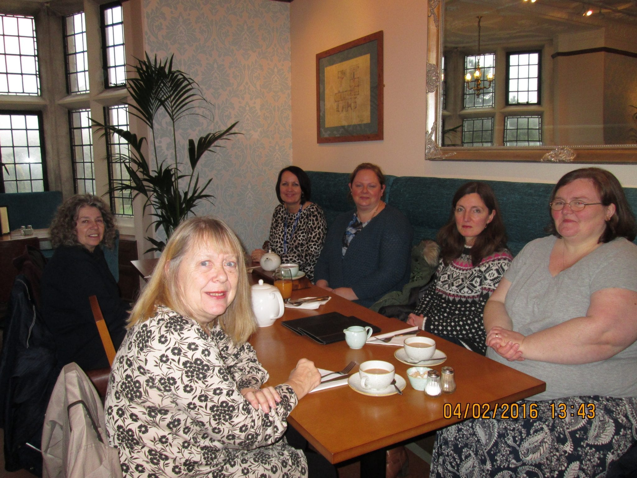 Parents group lunch at the haworth art gallery for Group lunch